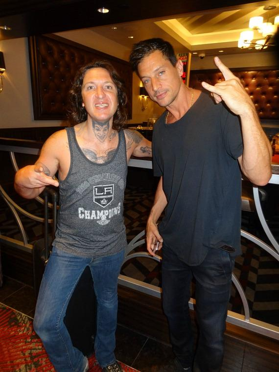 Rapper Mickey Avalon And Actor Rapper Simon Rex Aka Dirt