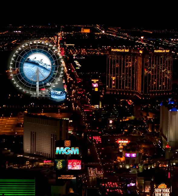 SkyVue Begins Construction on Observation Wheel Attraction on Las Vegas Strip