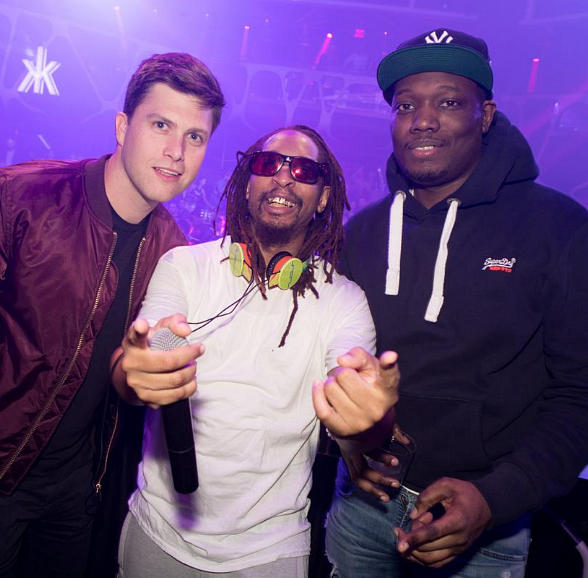 """Saturday Night Live"" Comedians Colin Jost and Michael Che Spotted at Hakkasan Las Vegas Nightclub"