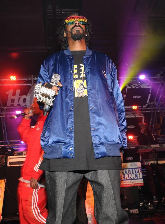 Snoop Dogg performs at Hard Rock Cafe on the Las Vegas Strip