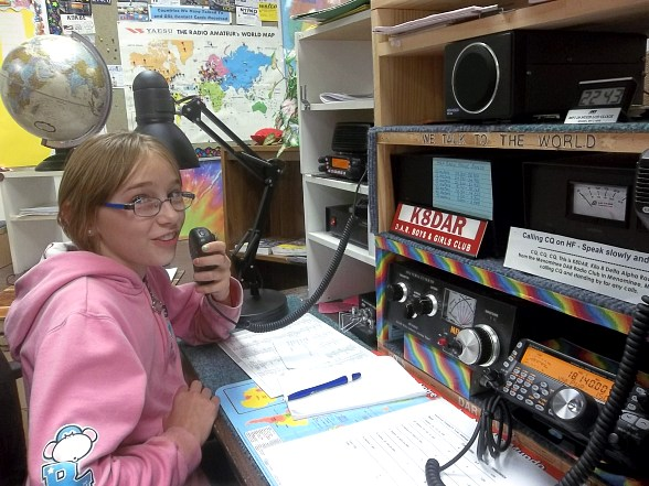 Sisterhood of Amateur Radio Supports Girl Scouts in Obtaining Radio Wireless Patch