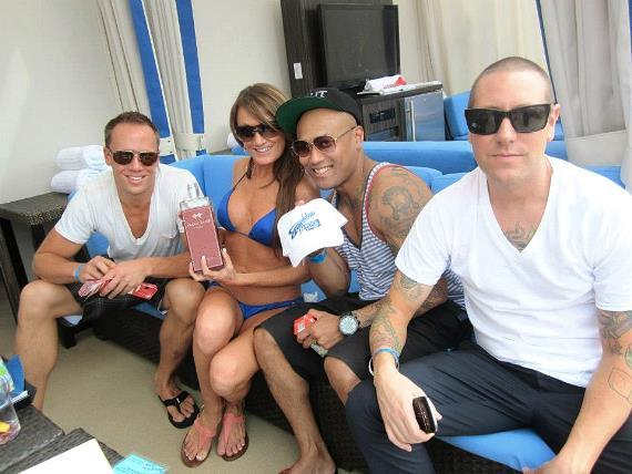 Celebrating Mother's Day at Sapphire Pool & Dayclub