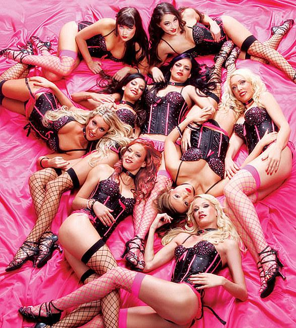 "X Burlesque Celebrates ""Diamond Anniversary"" in Las Vegas"