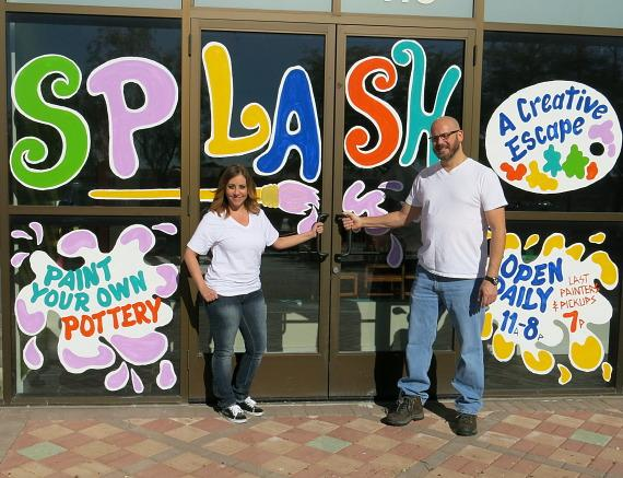 Splash Studios Now Open for Pottery Painting, Fun and Interactive Art Programs