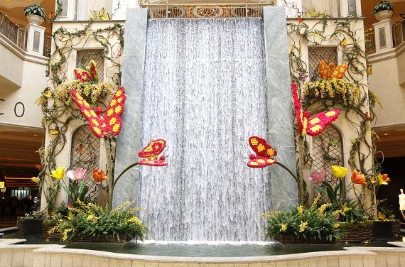 The Palazzo Las Vegas Celebrates The Arrival Of The Spring Season