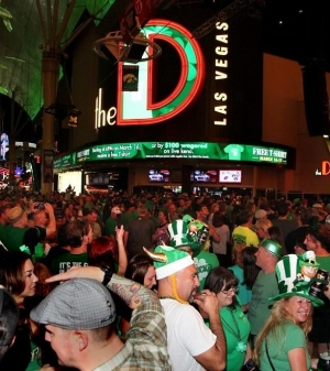 St. Patty's Day Fun at the D Las Vegas