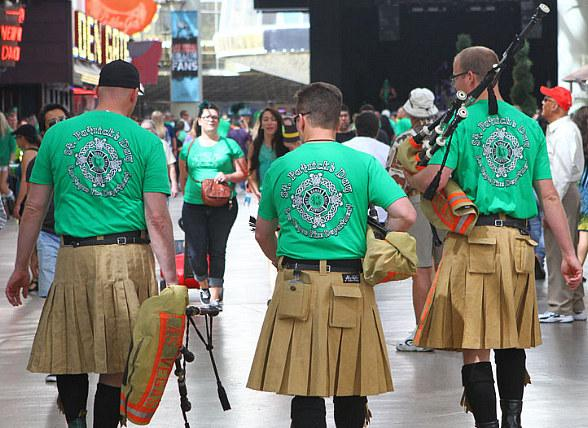 Celebrate the Luck O' The Irish at Fremont Street Experience with Four-Day St. Patrick's Day Shamrock Celebration March 15–18