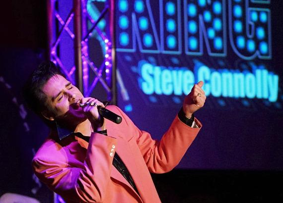 Steve Connolly, Elvis Impersonator and headliner of the Spirit of the King Show at The Four Queens Hotel & Casino