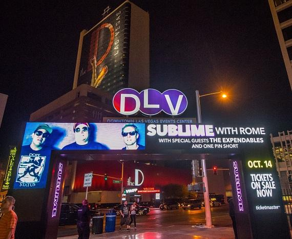 Sublime with Rome concert DLV Events Center in Las Vegas