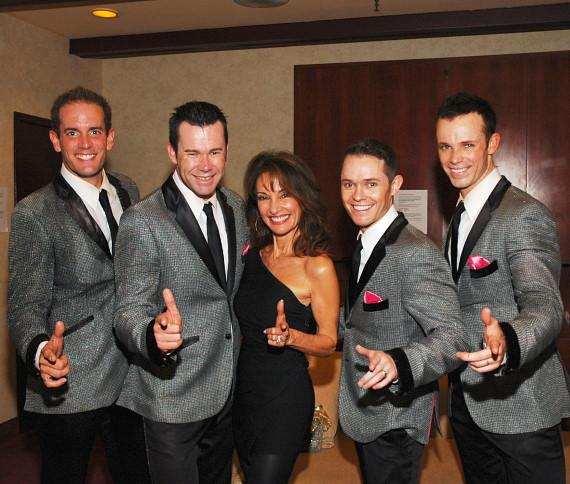 Susan Lucci with Human Nature in Las Vegas