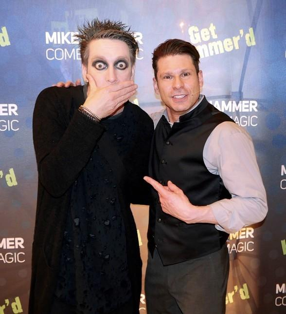 "Tape Face gets ""Hammered"" at ""The Mike Hammer Comedy Magic Show"" at The Four Queens Hotel & Casino"
