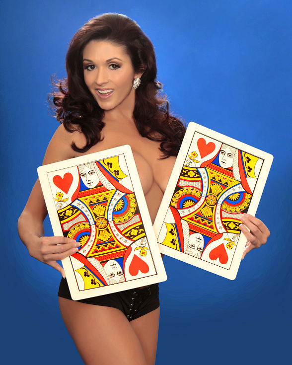 "Taya Parker hosts ""Centerfolds of Magic"" at The Plaza Hotel and Casino"