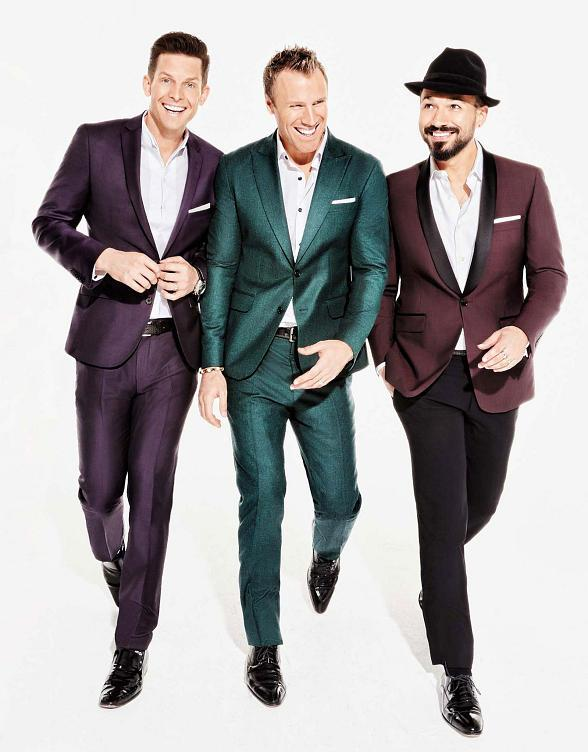 "Multi-Platinum Vocal Group The Tenors to Star in ""One Night For One Drop"" Imagined by Cirque du Soleil Friday, March 3"