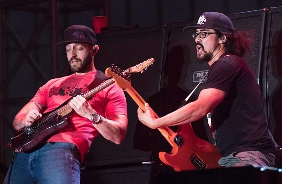 The Expendables in concert at DLV Events Center in Downtown Las Vegas