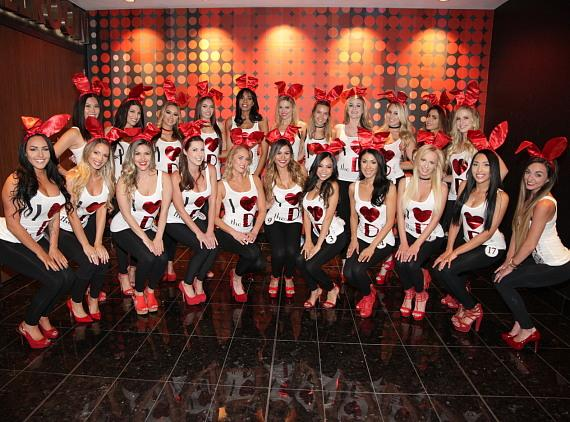 The Miss D Bunny Hunt Contestants at The D Casino Hotel Las Vegas