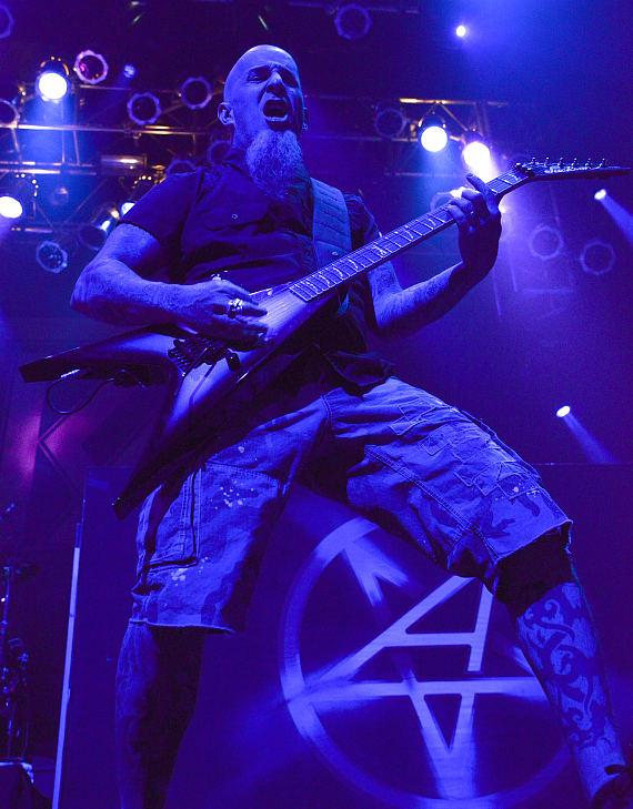 Anthrax performs at The House of Blues in Las Vegas