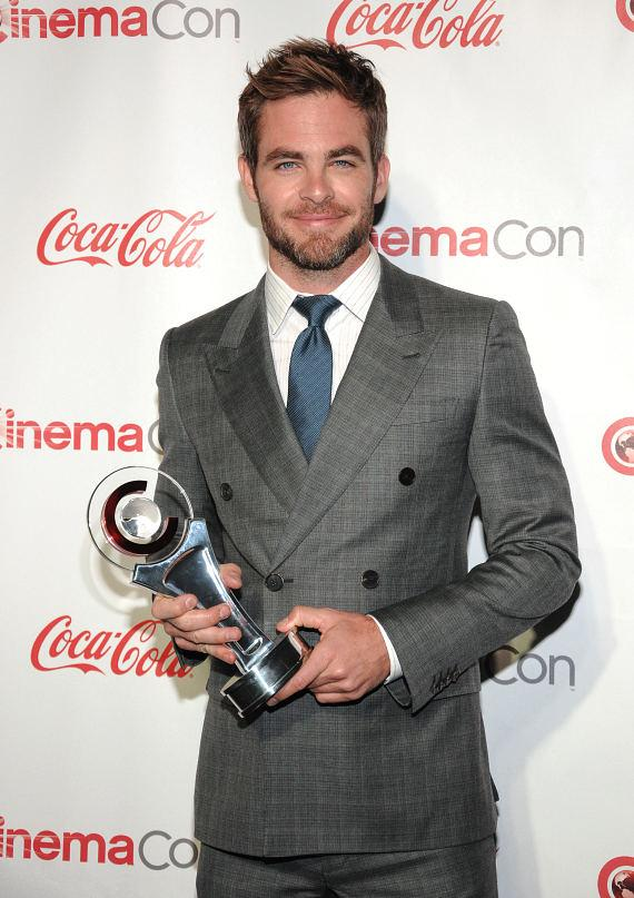 Male Star of the Year: Chris Pine