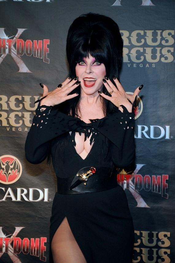 Elvira - Mistress of the Dark celebrates the Grand Opening of Fright Dome