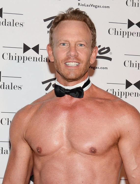Ian Ziering at Rio All-Suite Hotel and Casino