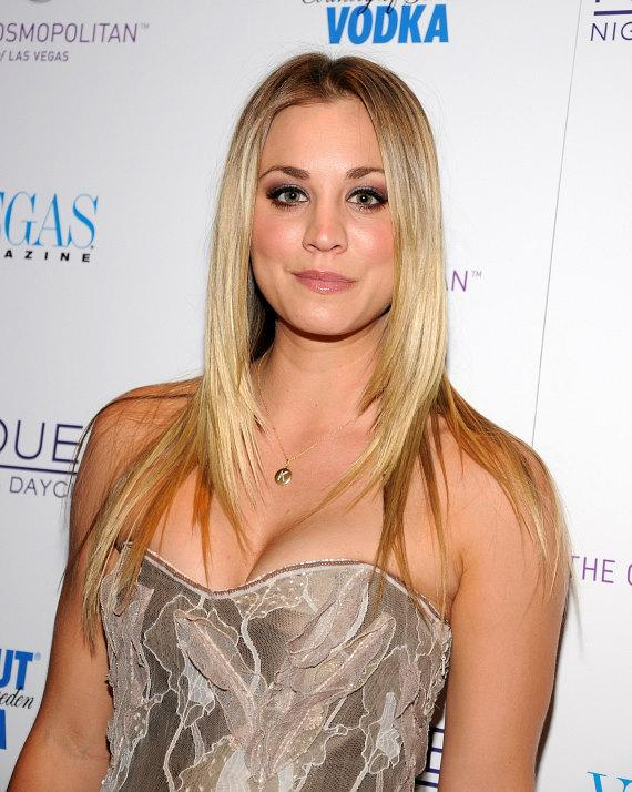 Kaley Cuoco hosts Vegas Magazine's Fall Fashion Issue Cover Party at Marquee