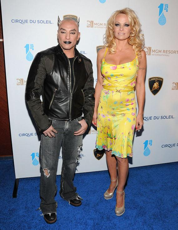 Pam Anderson and actor Jesus Villa