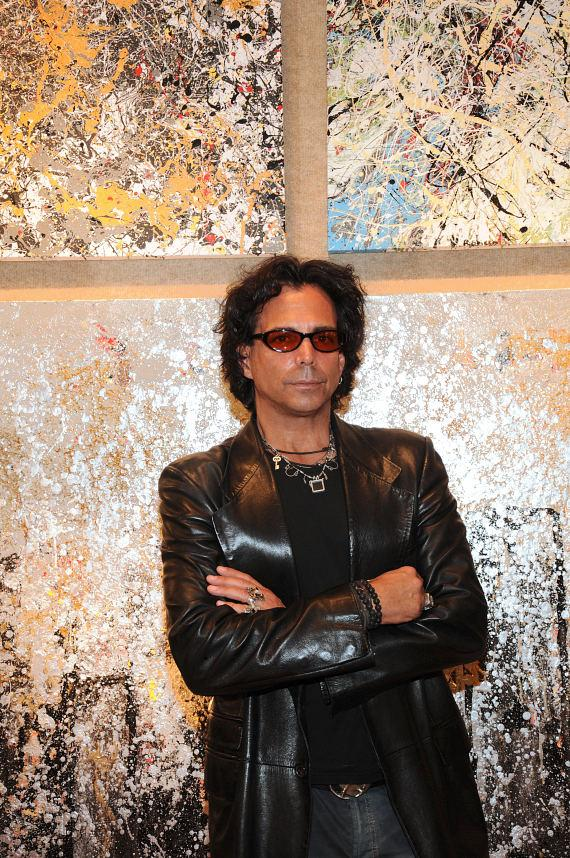 Richard Grieco Works On Canvas Art Exhibit At Wyland Galleries
