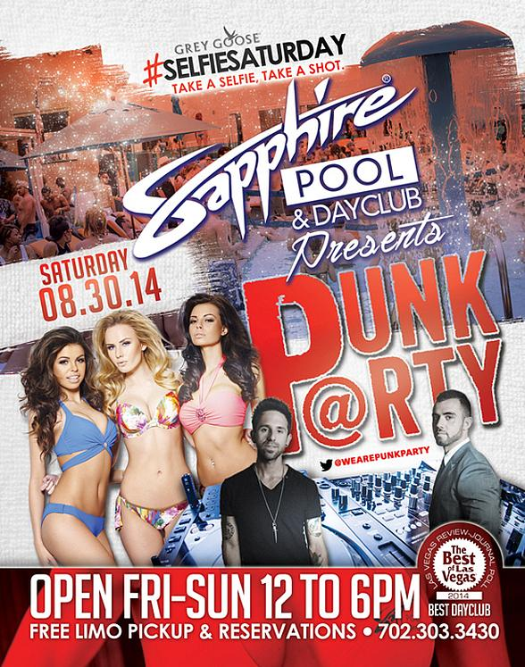 Punk Party Brothers Keith Varon and Nick John to Perform at Sapphire Pool & Day Club for #SELFIESATURDAY, August 30
