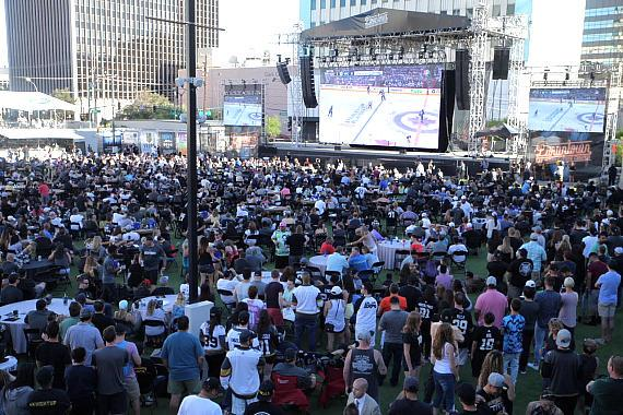 Vegas Golden Knights Official Watch Party at Downtown Las Vegas Events Center