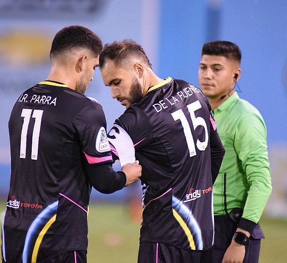 Irvin Raul Parra gave the captain's armband to Bryan De La Fuente, who suffered a torn ACL in preseason action and after six months of recovery, he was able to make his 2019 USL Championship debut on Saturday night.