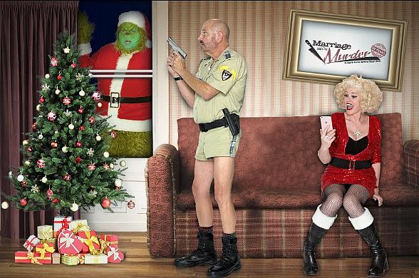 """Who Will Be Sleighed? Celebrate This Holiday Season with """"Marriage Can Be Murder"""" at the D Las Vegas"""