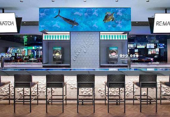 RE:MATCH Bar at The LINQ Hotel + Experience