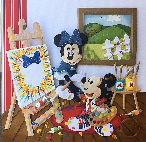 """Magical Memories Featuring Disney Fine Art"" Hosts Paper Sculpture Artist Karin Arruda for Free Paper Sculpture Class and Live Art Demonstrations April 6-8"