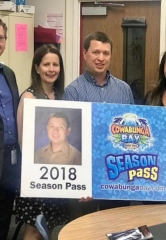 Teacher Appreciation Week: Teachers Surprised with Cowabunga Bay Waterpark Season Passes
