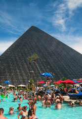 "Weekends at Luxor Heat up with Return of ""Temptation Sundays"" – Popular LGBTQ Pool Party May 13"