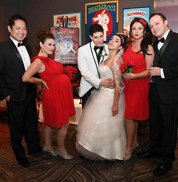 Tony n' Tina's Wedding Ties the Knot at Buca di Beppo Inside Bally's Las Vegas