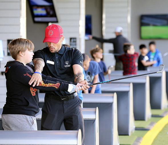 Local Kids get the Opportunity to Learn from Pros at Topgolf Las Vegas Spring Academy April 15-17