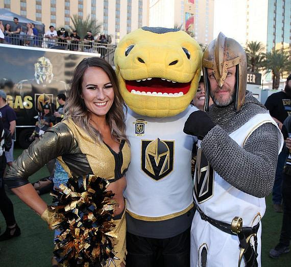 Vegas Golden Knights Official Watch Party is a Huge Success at Downtown Las Vegas Events Center