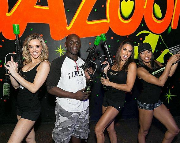 Glowzone Las Vegas Hosts the First Annual Celebrity & Media Challenge
