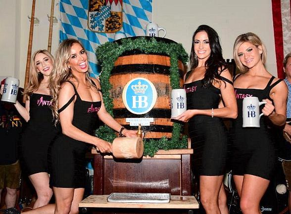 "Oktoberfest Keg Tapping Continues at Hofbräuhaus Las Vegas with Ladies of ""FANTASY"" and Cast of ""Raiding the Rock Vault"""