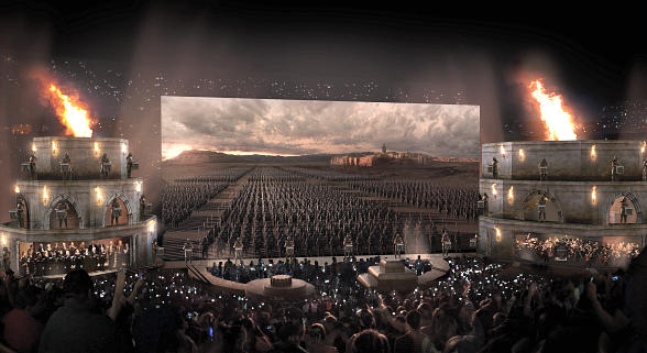 """Game of Thrones"" Live Concert Experience coming to MGM Grand Garden Arena March 25, 2017"