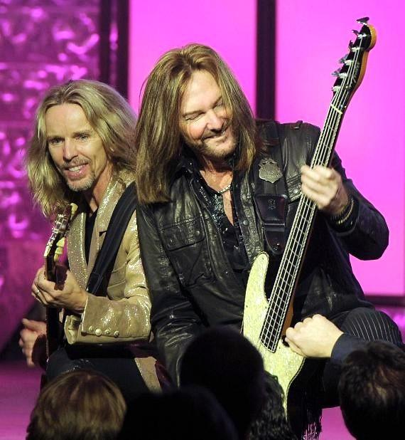 Styx performs at The Pearl Concert Theater in Palms Casino Resort