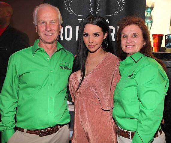 """Vanderpump Rules"" star Scheana Marie Shay with Oro Imperial Tequila Owners"
