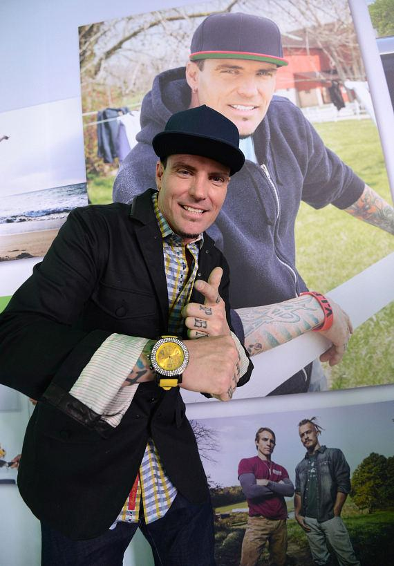 Vanilla Ice at Scripps Networks Interactive Pavilion at 2014 CES in Las Vegas
