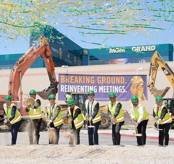 MGM Grand Breaks Ground on Conference Center and Stay Well Meetings Expansion