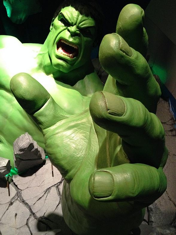 The Incredible Hulk Smashes His Way into Las Vegas, Lands at Madame Tussauds