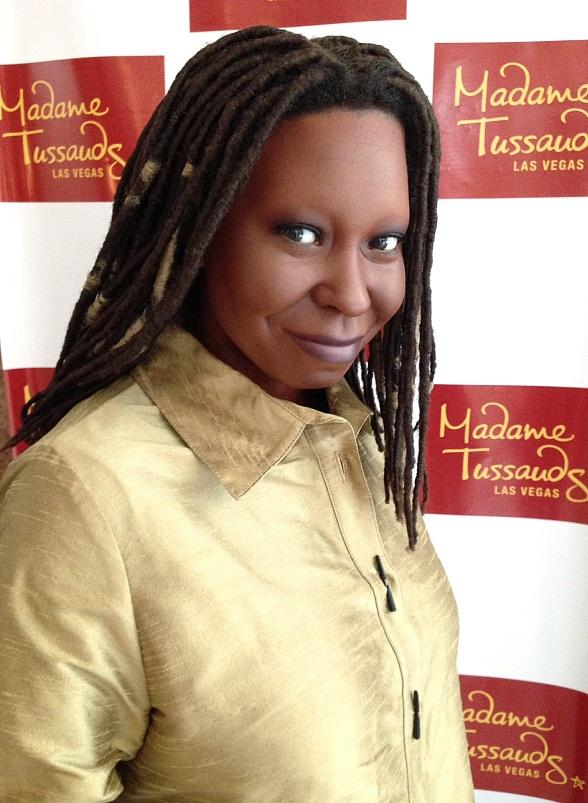 Madame Tussauds Las Vegas Figure of Whoopi Goldberg Arrives at The Smith Center to Welcome