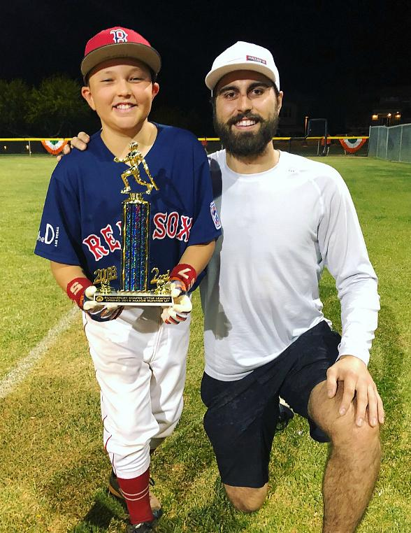 Vegas Golden Knights' Alex Tuch Surprises Kids at Little League Game