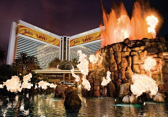 The Mirage unveils its new Volcano with fire effects and exclusive soundtrack