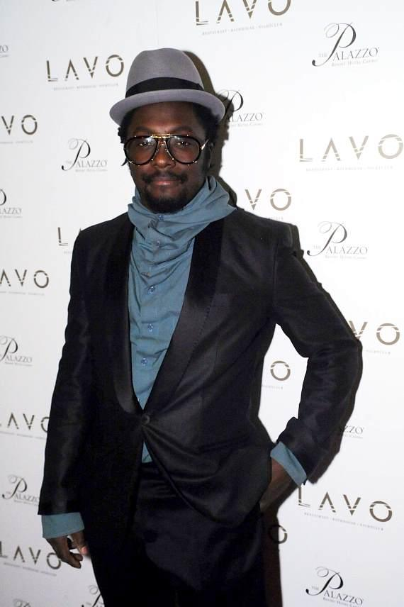 Will.I.Am of the Black Eyed Peas (Photo by Brian Bryan Haraway)
