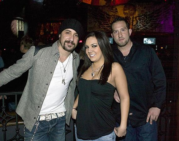 AJ McLean at Wasted Space (Photo credit: Hard Rock Hotel & Casino)